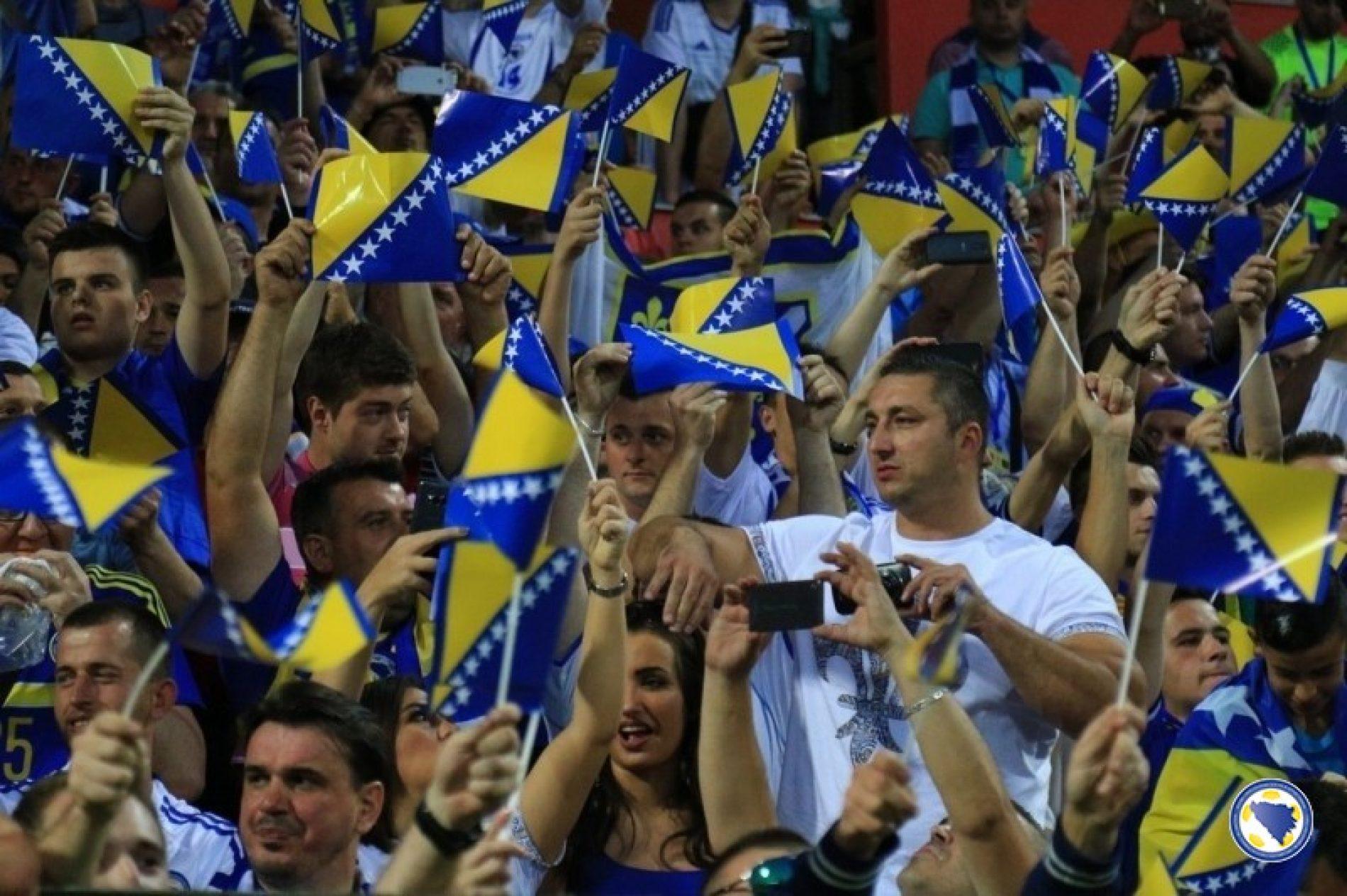 Bosna i Hercegovina danas igra prijateljsku utakmicu sa Crnom Gorom