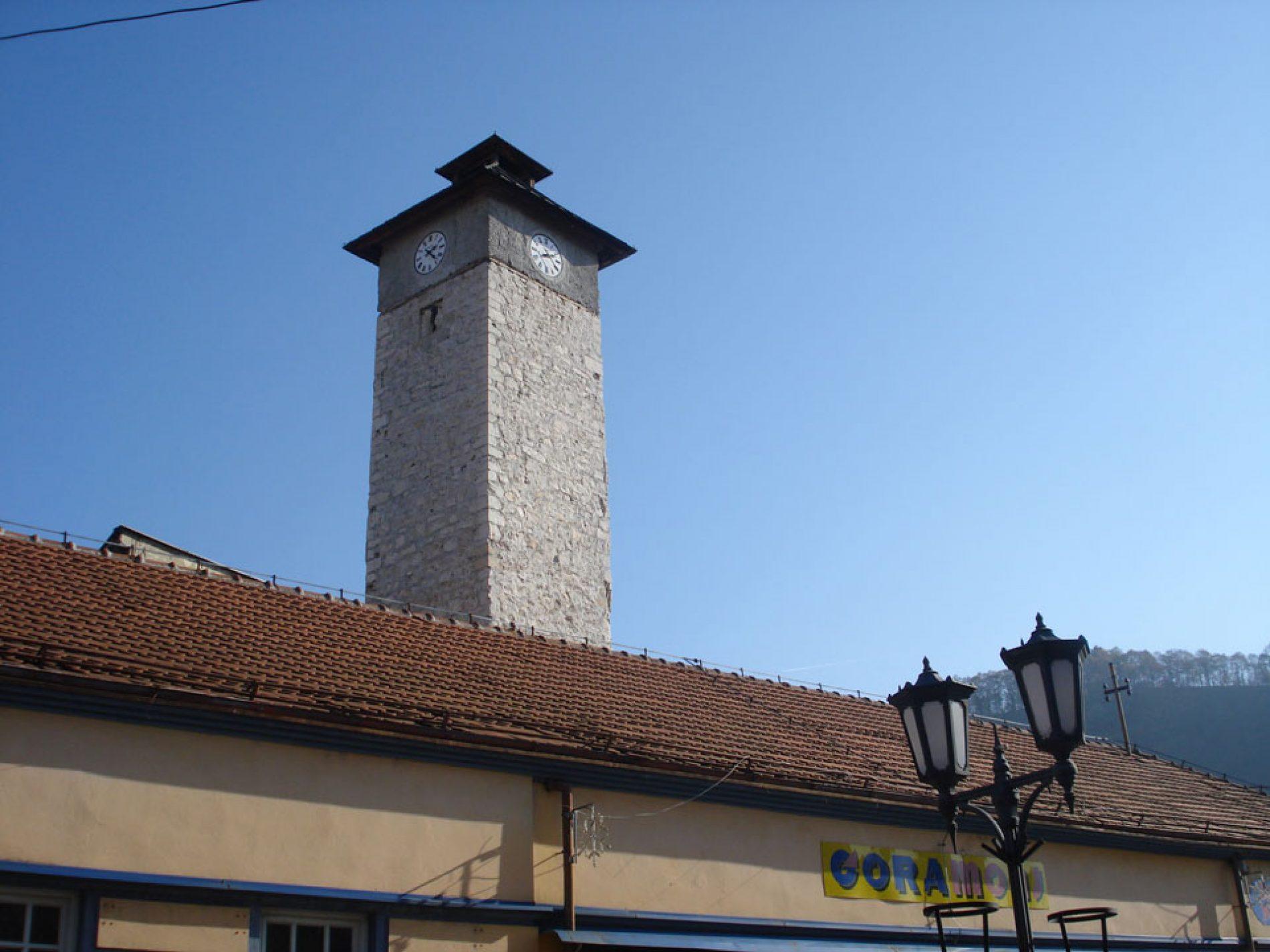 Sahat-kula u Gračanici – Gračanički kosi toranj