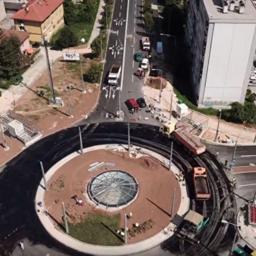 Sarajevo: Završna izgradnja dijela Južne longitudinale