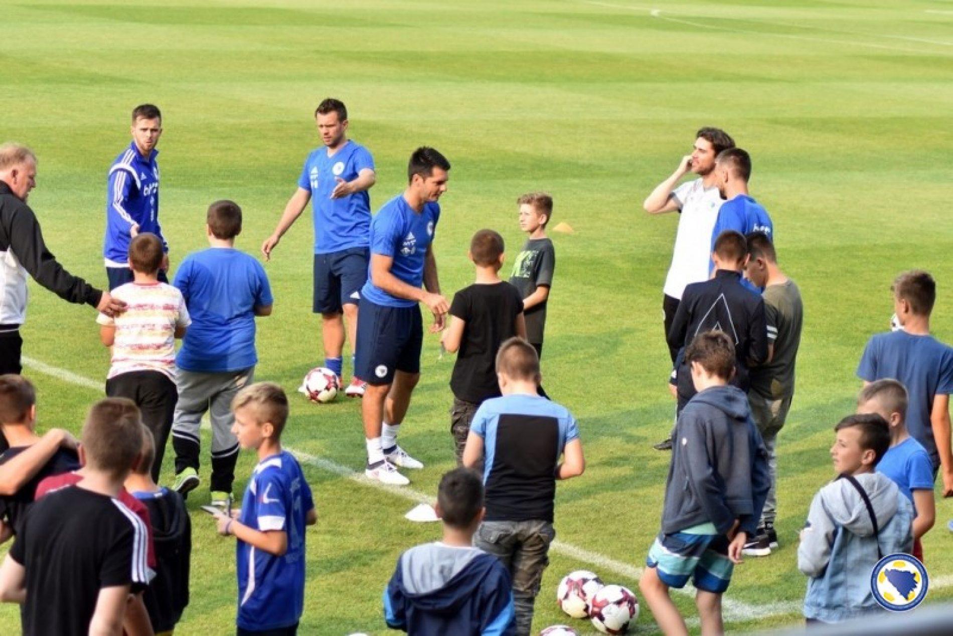 Spahić, Misimović i Ibišević se priključili reprezentaciji u Zenici