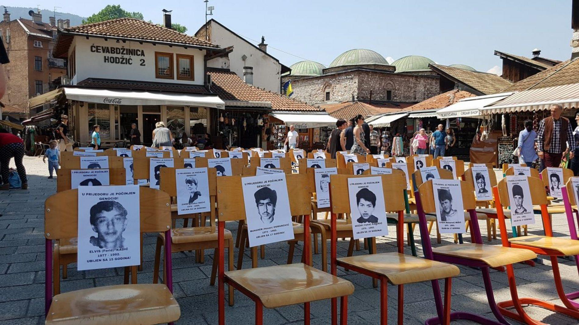 Sarajevo: Sjećanje na 3.176 ubijenih Prijedorčana i u Starom Gradu