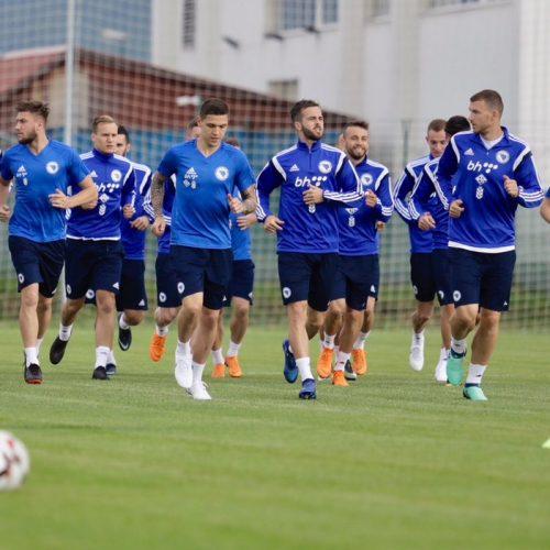 Fudbalska reprezentacija Bosne i Hercegovine obavila prvi trening