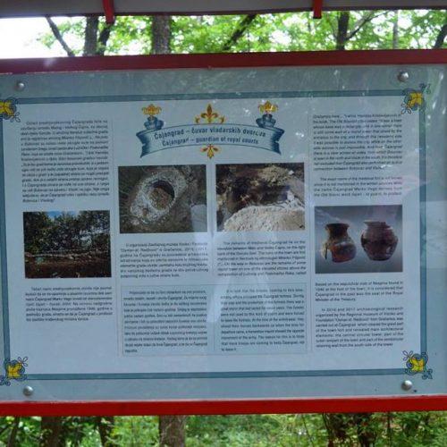Čuvanje historijskog naslijeđa: U Visokom otvorena turistička staza prema Čajangradu (FOTO)