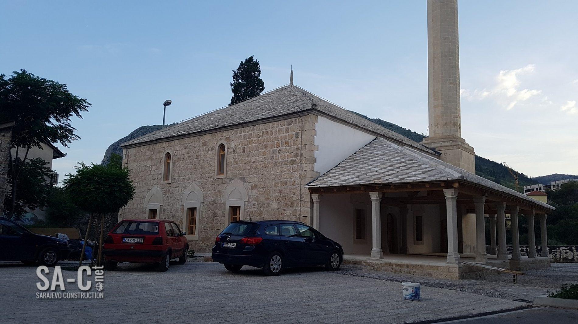Privodi se kraju rekonstrukcija najveće mostarske džamije