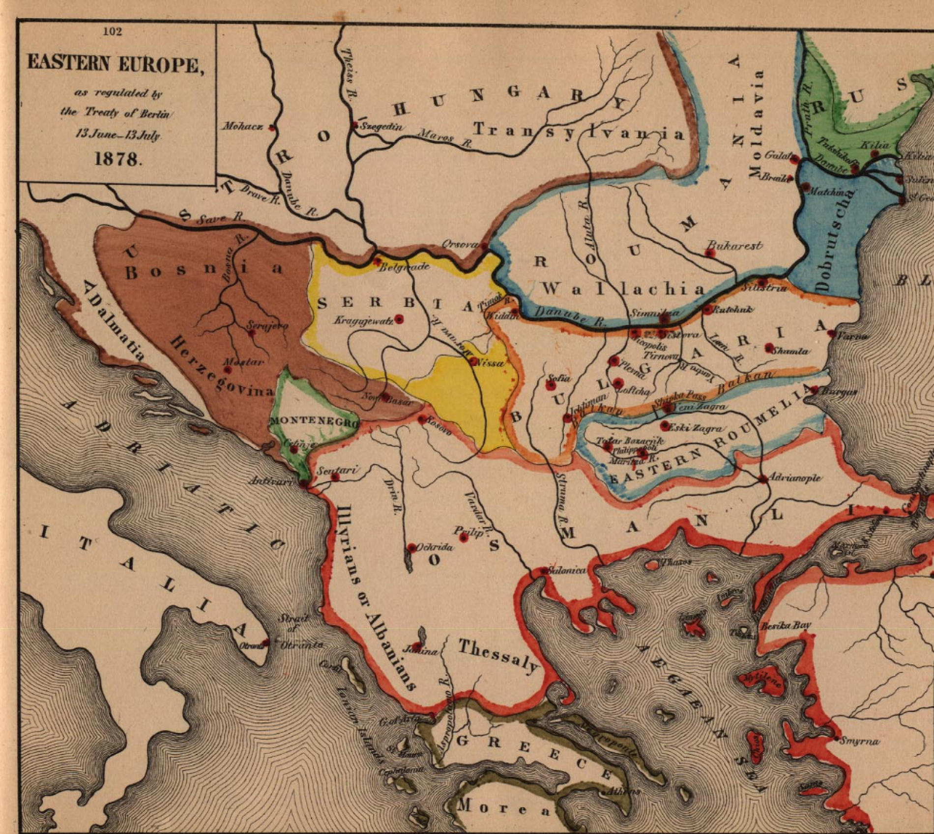 Berlinski kongres 140 godina poslije: Velesile odvojile Sandžak od Bosne