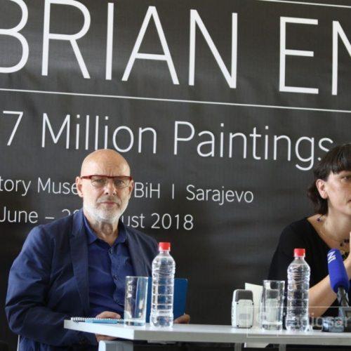 """Brian Eno izložbom """"77 Million Paintings"""" vraća Sarajevo na kulturne mape svijeta"""