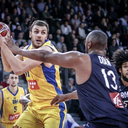 Košarka: Bosna i Hercegovina večeras protiv moćne Francuske