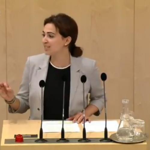 Parlament Austrije: Desničari dobacivali parlamentarki Almi Zadić