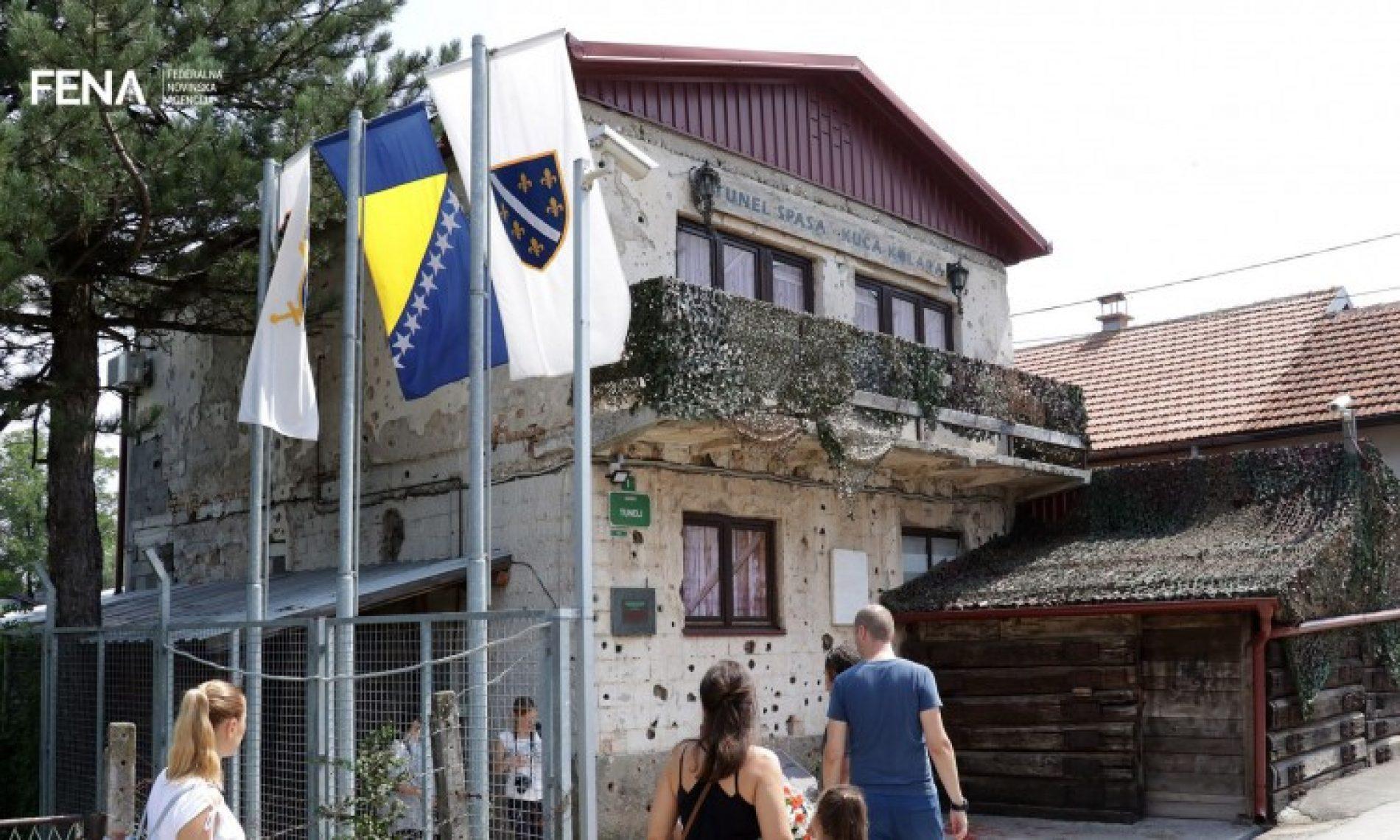 Obilježena 25. godišnjica puštanja u funkciju Sarajevskog tunela spasa (VIDEO)
