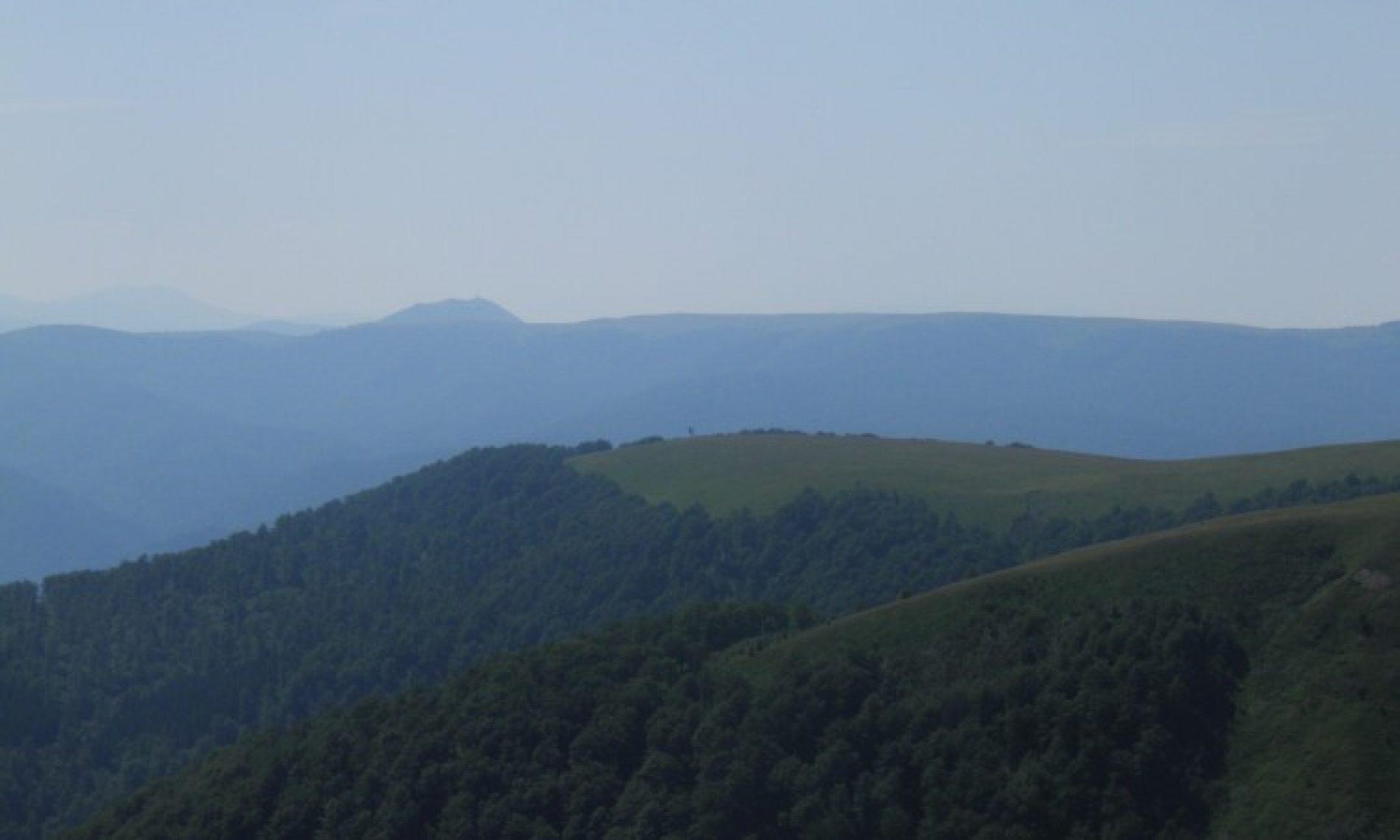 Ljepota horizonta sa Vranice (FOTO)