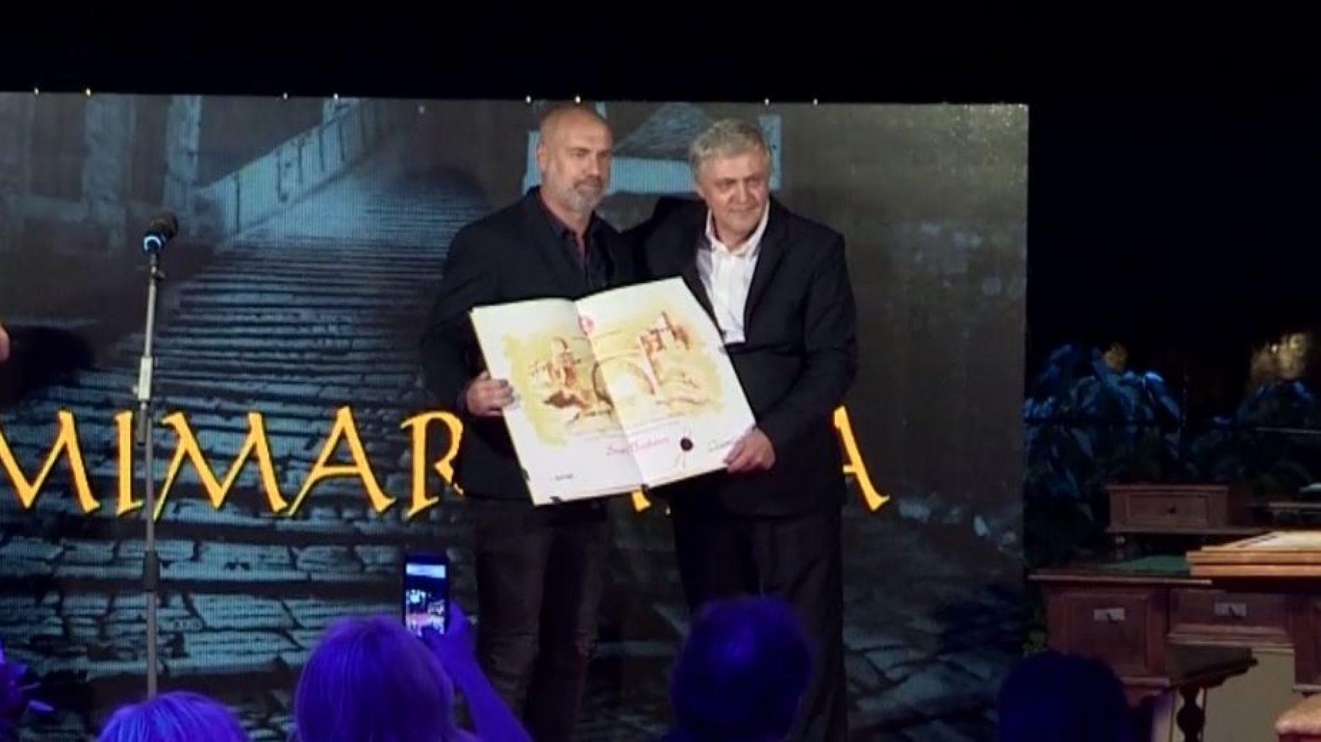Sergeju Barbarezu u Mostaru uručena nagrada Mimar Mira