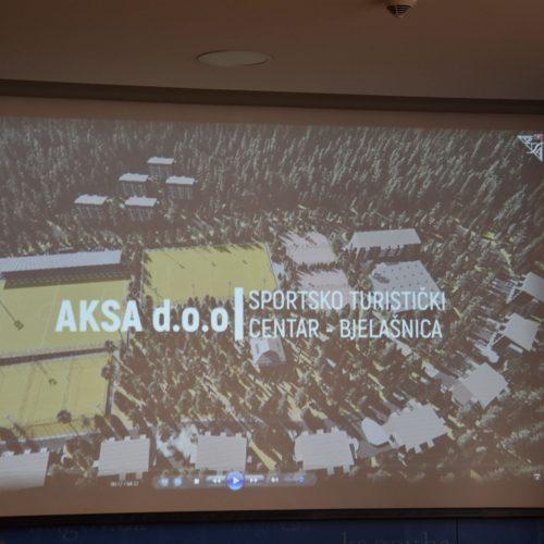 """""""Poslovno – sportski centar Trnovo"""" bit će jedan od najmodernijih u Bosni i Hercegovini"""