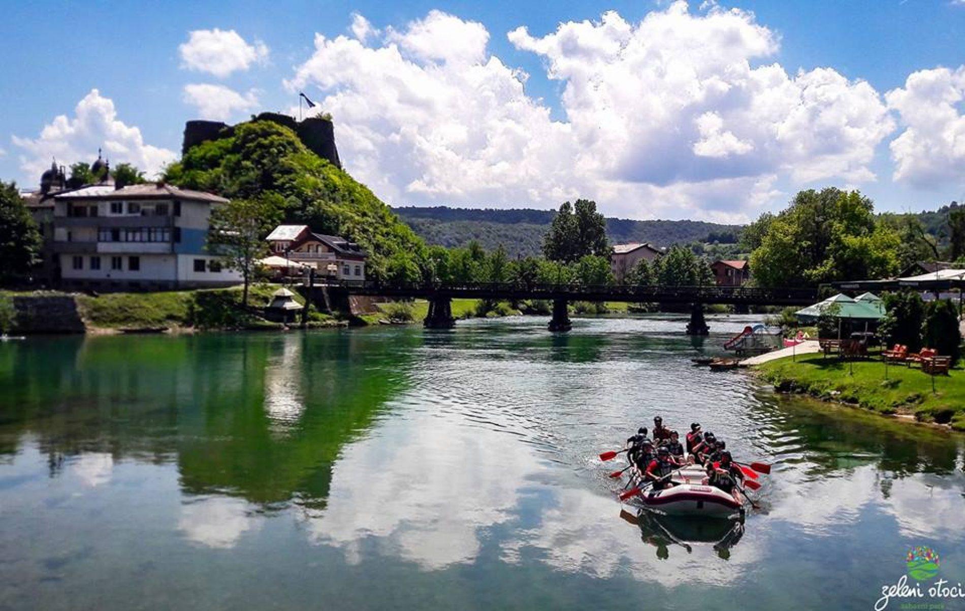 'Zeleni otoci', prirodni raj u centru Bosanske Krupe