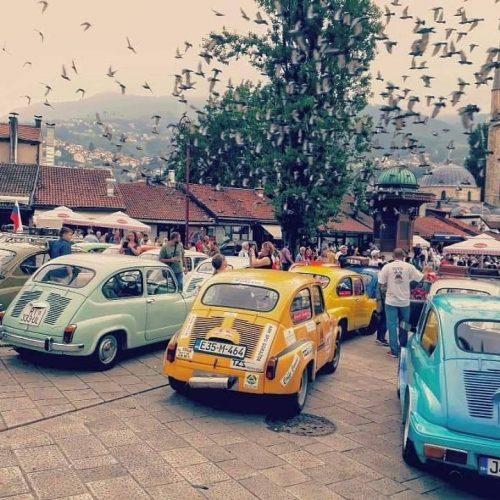 Fiat-Fićo Fest na Baščaršiji – izloženo 60 automobila