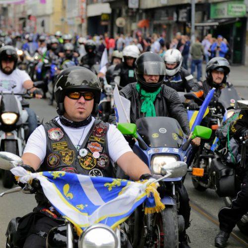Krenuo Moto-maraton za Srebrenicu