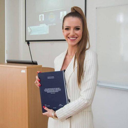 Una Suljić je najmlađi doktor nauka u Bosni i Hercegovini