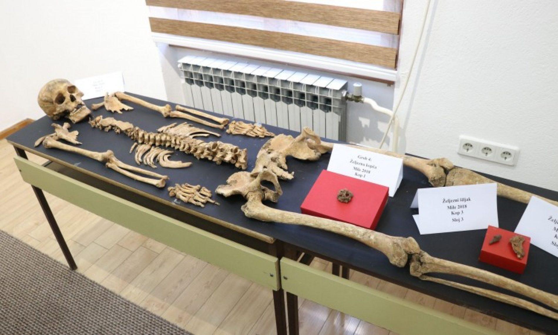Arheolozi pronašli pet kompletnih skeleta u Milima kod Visokog