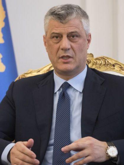 Thaci: Nećemo dozvoliti stvaranje Republike Srpske na Kosovu