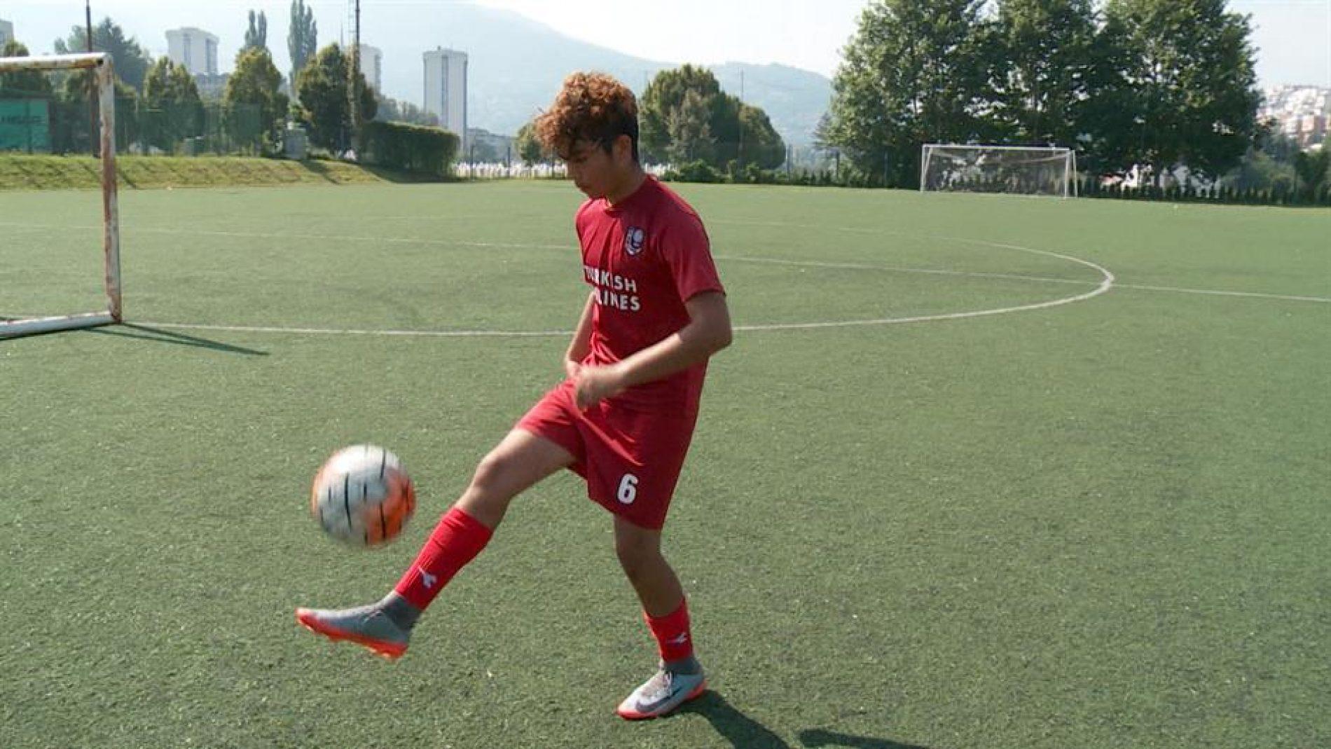 Dječak migrant zaigrao za FK Sarajevo