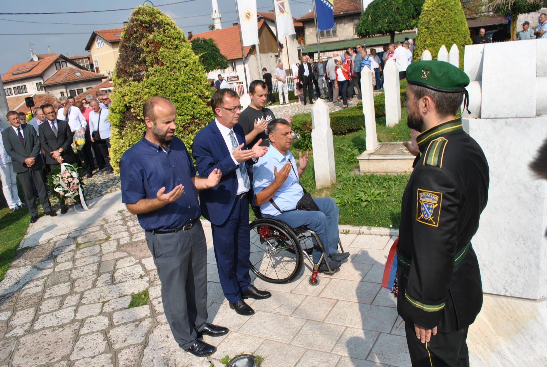 Počelo obilježavanje 26. godišnjice formiranja Prvog korpusa Armije RBiH