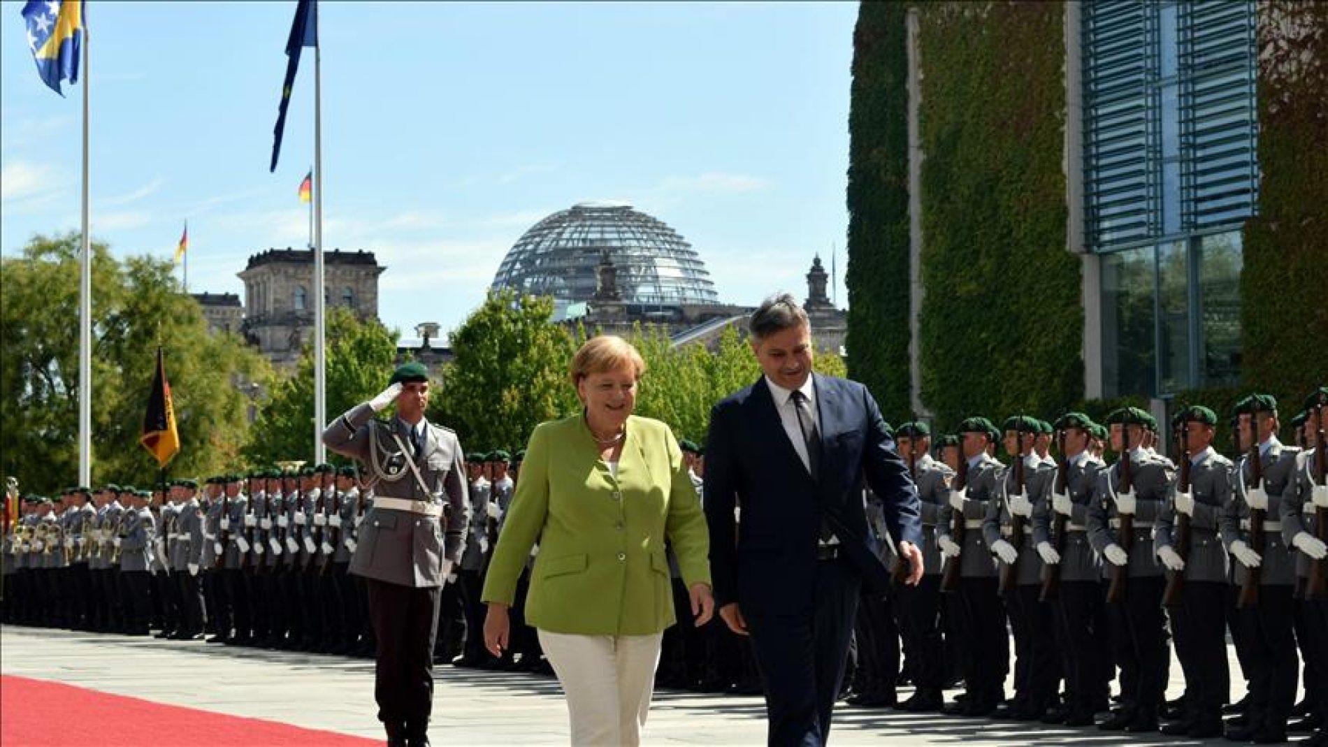 Bosanski premijer u zvaničnoj posjeti Njemačkoj (VIDEO)