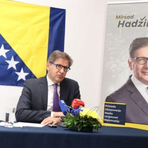 Hadžikadić: Bosna i Hercegovina treba dugoročni plan napretka