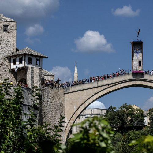 Red Bull Cliff Diving u Mostaru: Pobjednici Gary Hunt i Adriana Jimenez