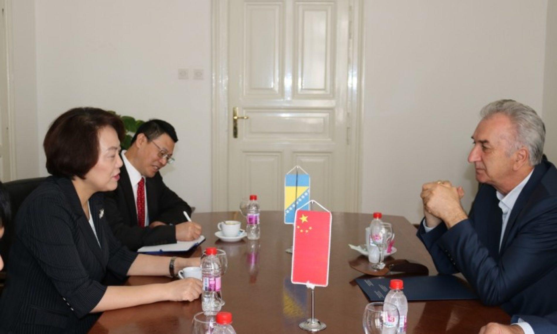 Vanjskotrgovinska razmjena Bosne i Hercegovine s Kinom porasla za više od 100 posto