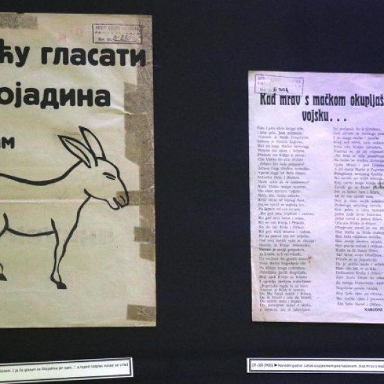Izložba predizbornih plakata između dva svjetska rata (VIDEO)