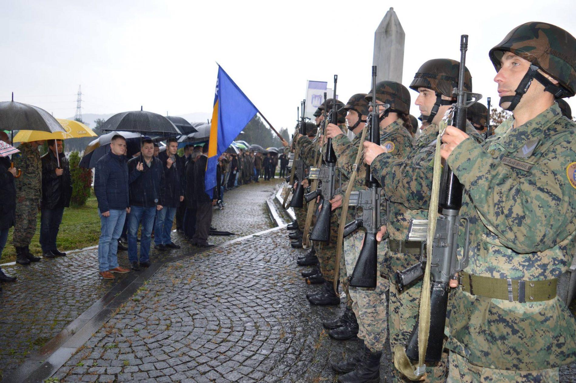 Bihać: Obilježavanje Dana 5. korpusa Armije Republike Bosne i Hercegovine