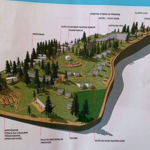 Prezentovana urbanistička studija za izgradnju turističko – rekreativnog centra Bijambare