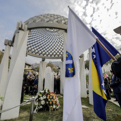 Na Kovačima obilježena 15. godišnjica smrti Alije Izetbegovića