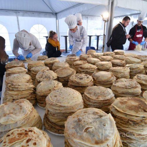 Sarajevski festival turizma: 13.000 palačinki za Guinnessov rekord