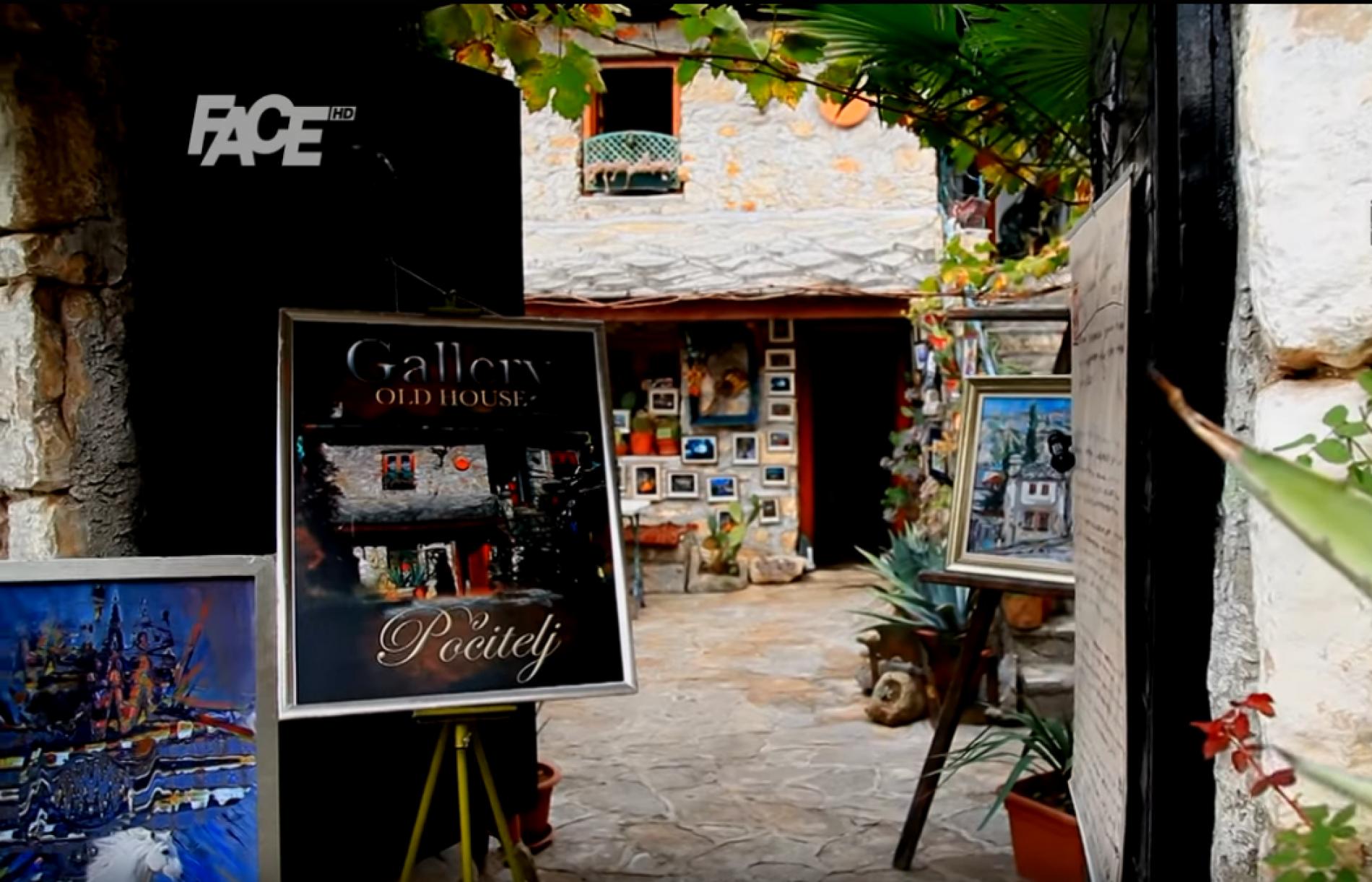 Galerija u Počitelju koja ostavlja bez daha (Video)