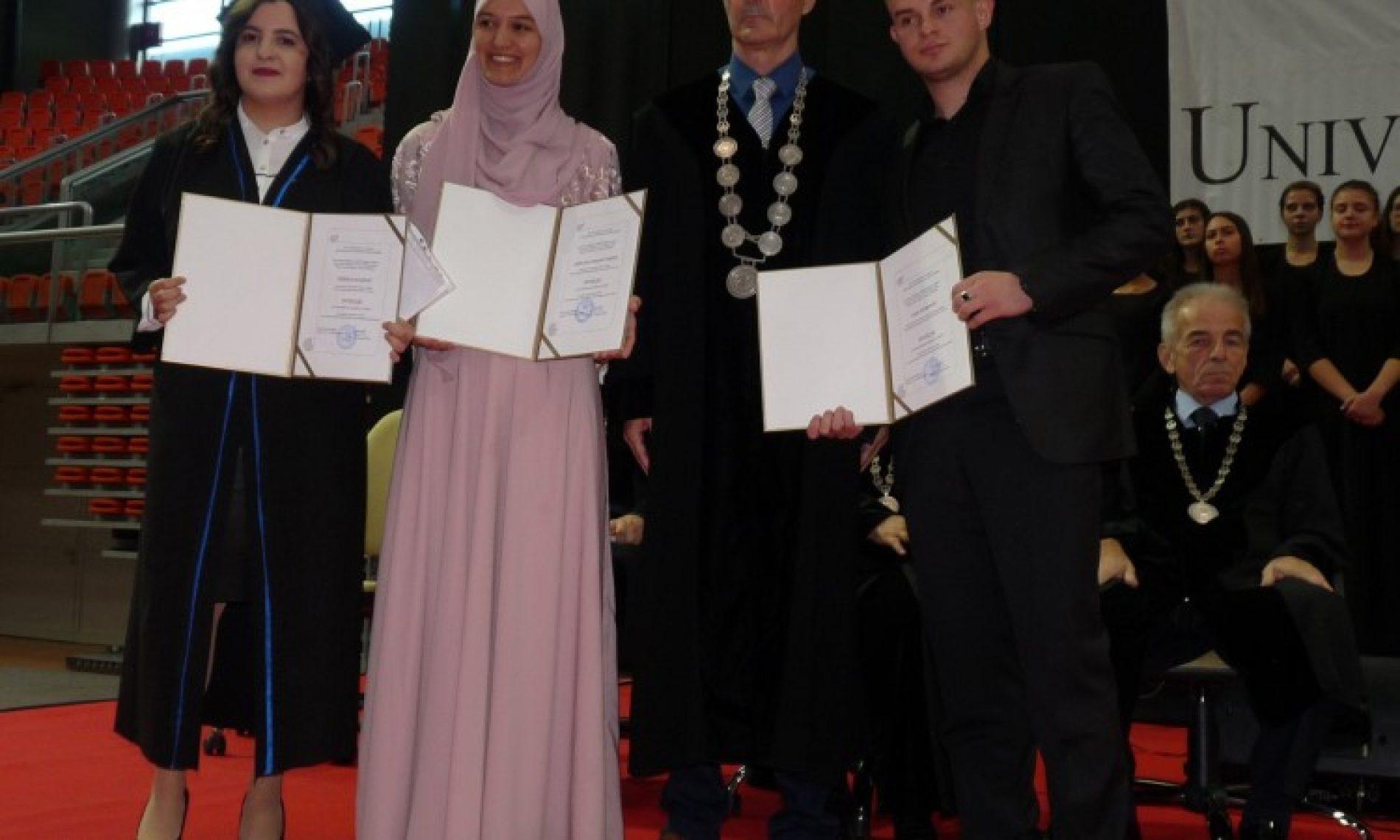 Univerzitet u Zenici promovisao 510 diplomanata
