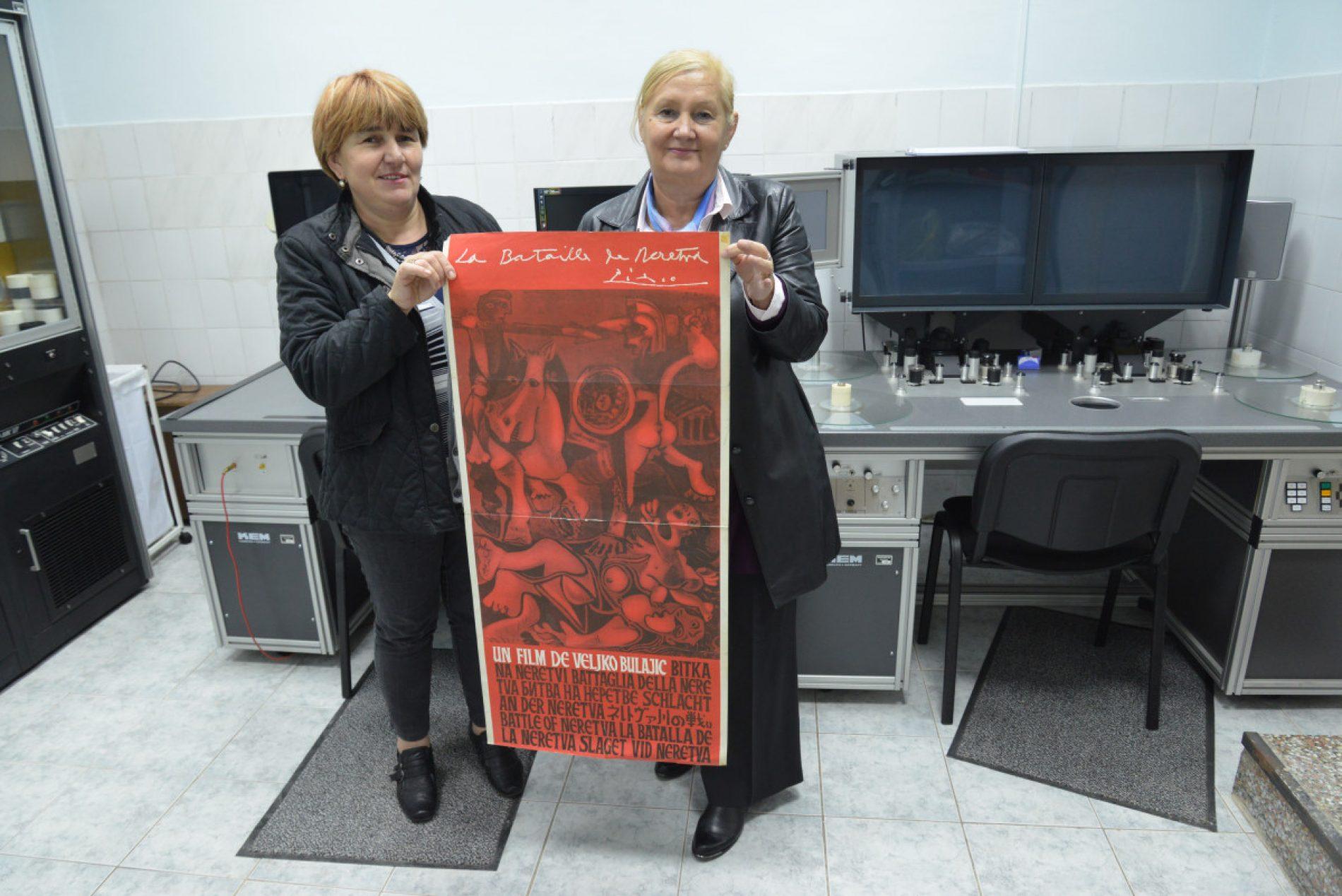 "Kinoteka Bosne i Hercegovine ponosno čuva Picassov plakat za ""Bitku na Neretvi"""
