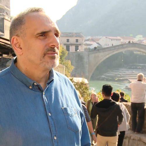 """Nedžad Maksumić: """"Kako grad može pripadati onom ko ruši njegov simbol"""""""