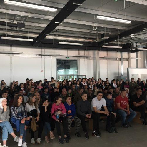 Tokom oktobra mjeseca oko 3.500 sarajevskih srednjoškolaca posjetilo Srebrenicu