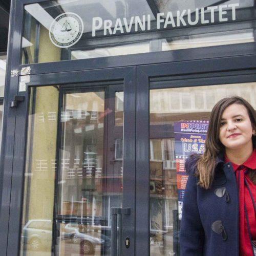 Džejna Suljević, pravnica sa prosjekom ocjena 10!