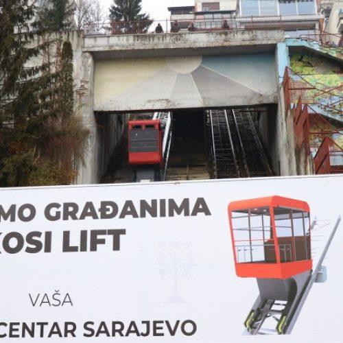 Kosi lift u sarajevskom naselju Ciglane (VIDEO)