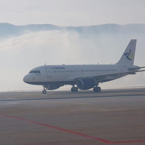 FLYBOSNIA – prvi avion sletio u Sarajevo, u planu nabavka još jednog Airbus-a