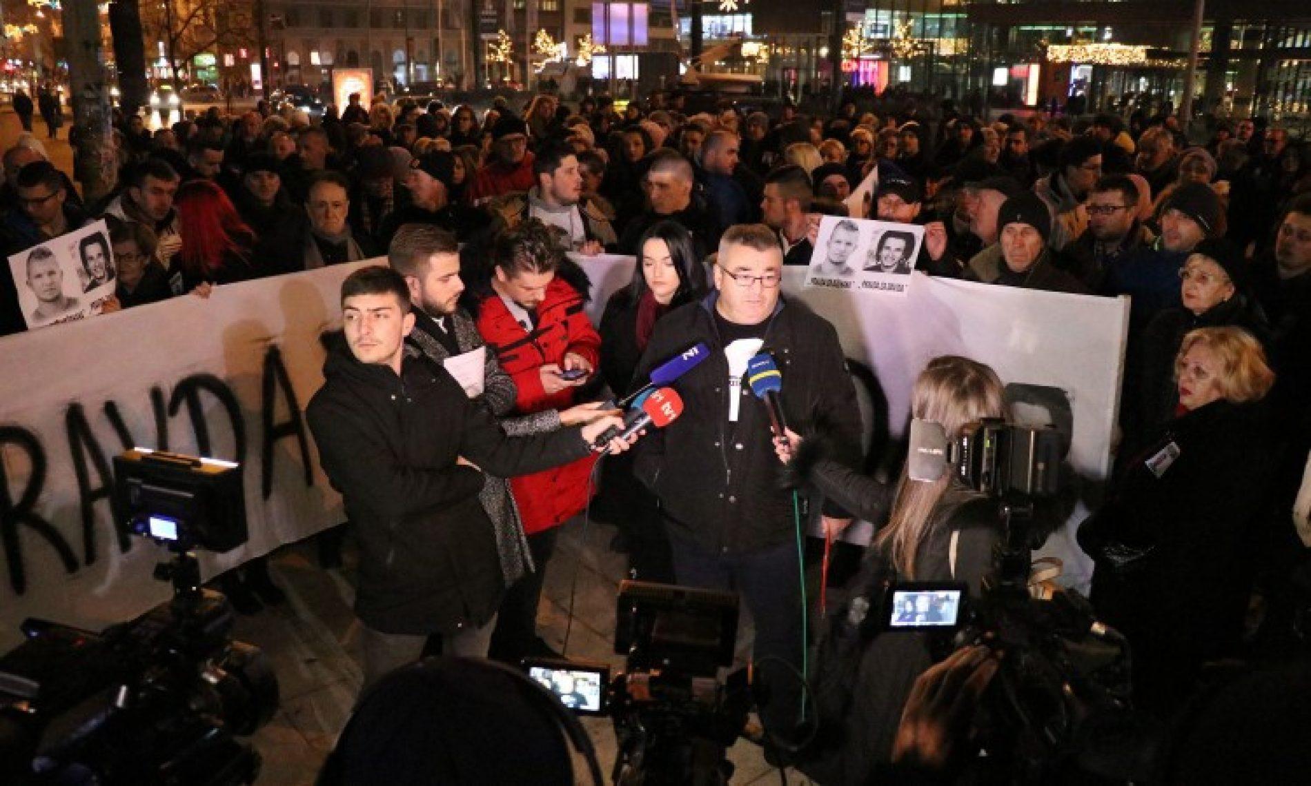 Protestna šetnja 'Pravda za Dženana' i podrška skupu u Banjoj Luci
