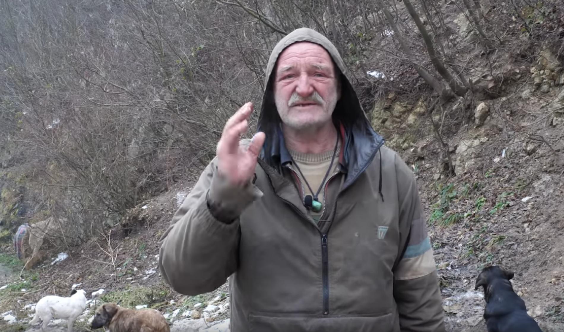Zenica: Devet godina živi u pećini, nije se razbolio (VIDEO)