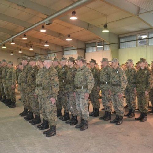 Pazarić: Polaganje zakletve i potpisivanje ugovora XXI klase kandidata za prijem u profesionalnu vojnu službu OS BiH