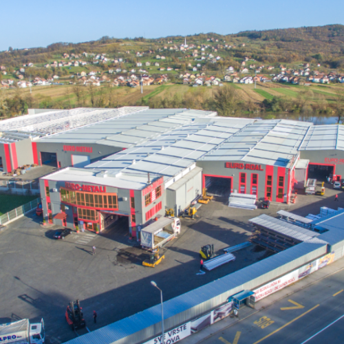 Euro Metali i Euro Roal grade najveći i najsavremeniji Steel Centar u Bosni i Hercegovini