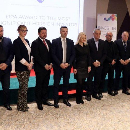 Uručene nagrade najznačajnijim stranim investitorima u Bosni i Hercegovini (VIDEO)