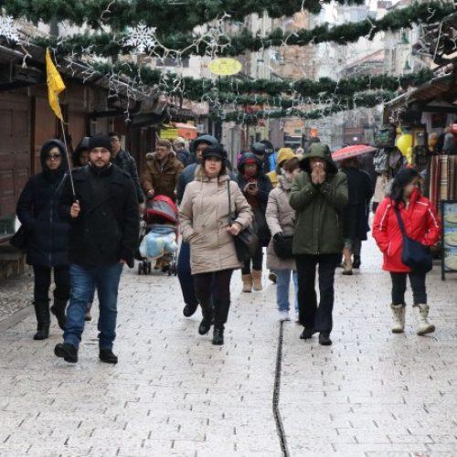 U Sarajevo stigao veliki brojni turista na doček Nove godine