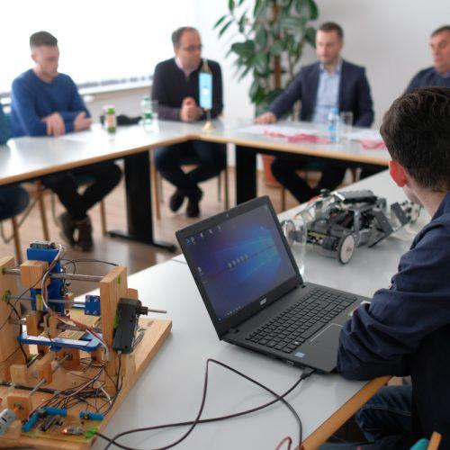 Prijem za učenike Srednje elektrotehničke škole u Sarajevu, osvajače zlatnih medalja na međunarodnom takmičenju inovacija
