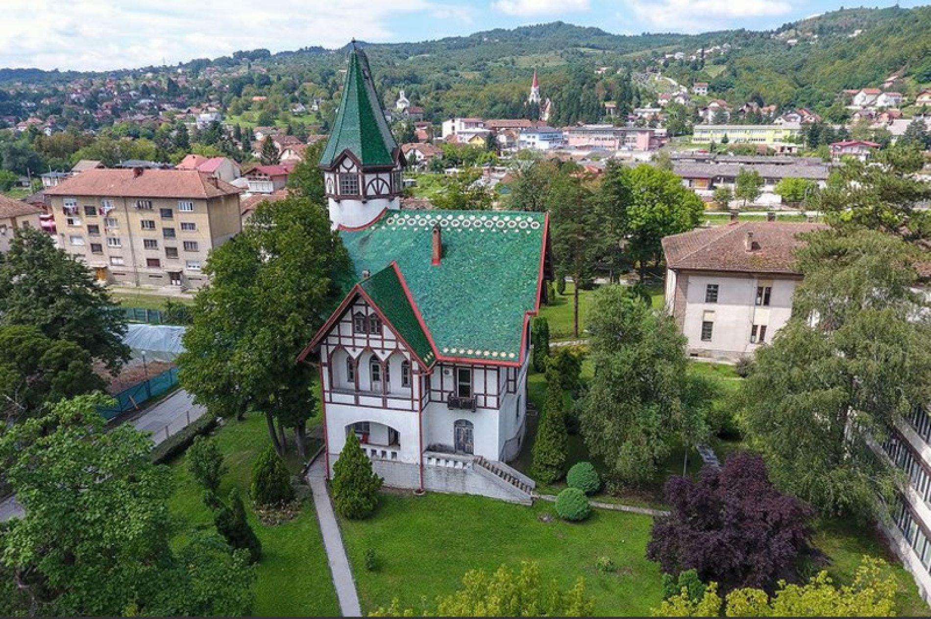 Krivajina vila u Zavidovićima, nacionalni spomenik Bosne i Hercegovine