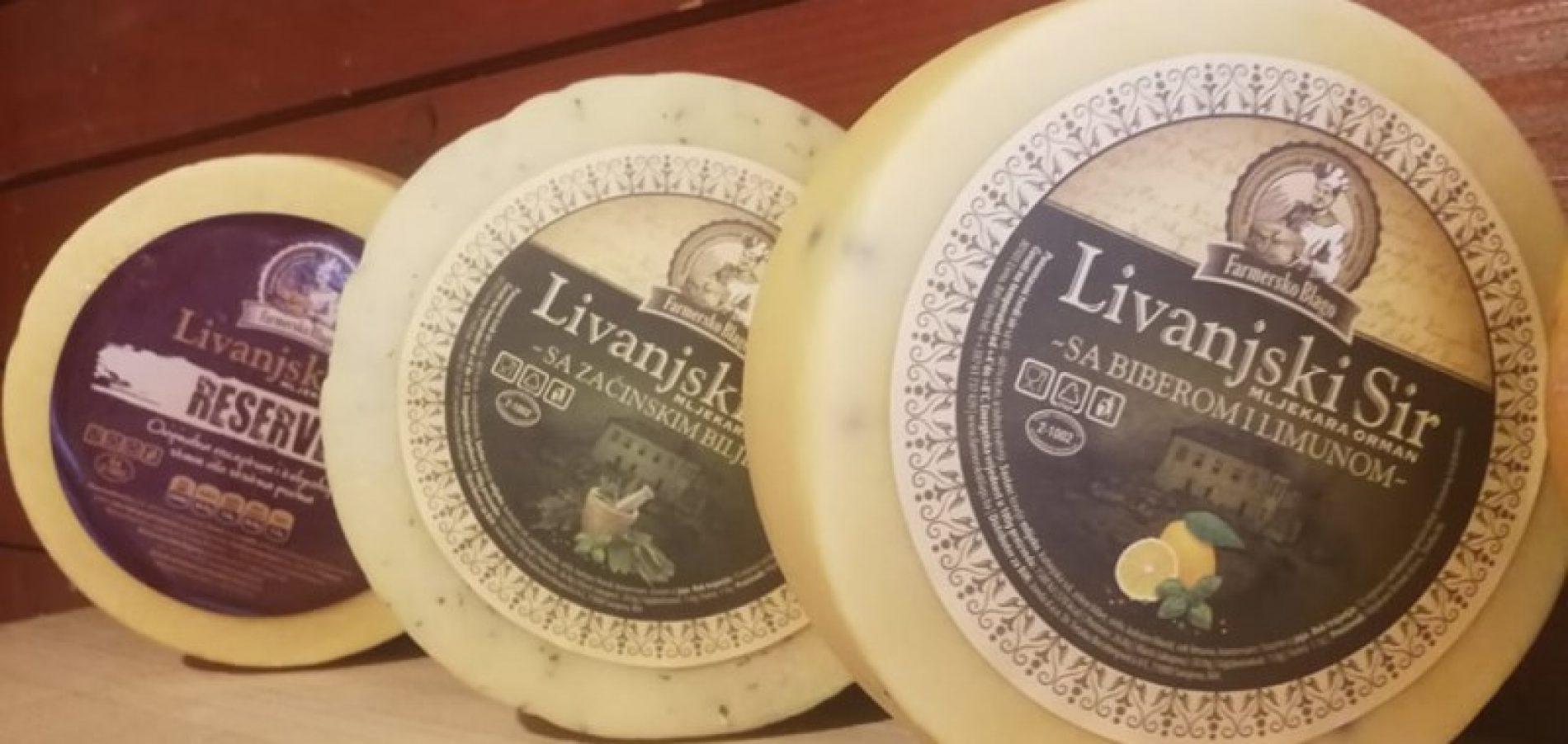 Livnjaci predstavili sir sa biberom i limunom, paprikom i začinskim biljem